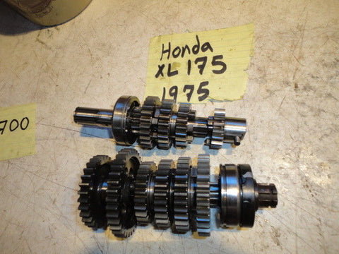 1975 HONDA XL175 175 main shaft transmission 23211-362-000 gear set trans tranny