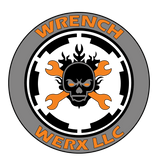 Back print Wrench Werx logo t shirt