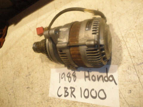 88 HONDA CBR1000 HURRICANE CBR 1000 ENGINE ALTERNATOR 31133-MM5-015 generator