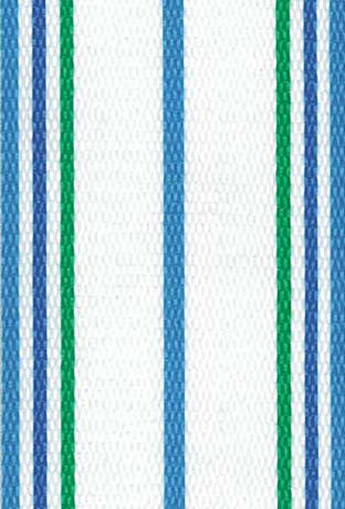 Sea Island White Lawn & Beach Chair Webbing / Strapping