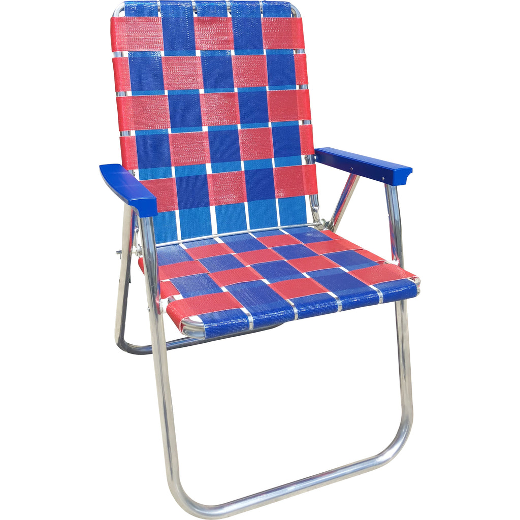 Blue & Red Classic Chair