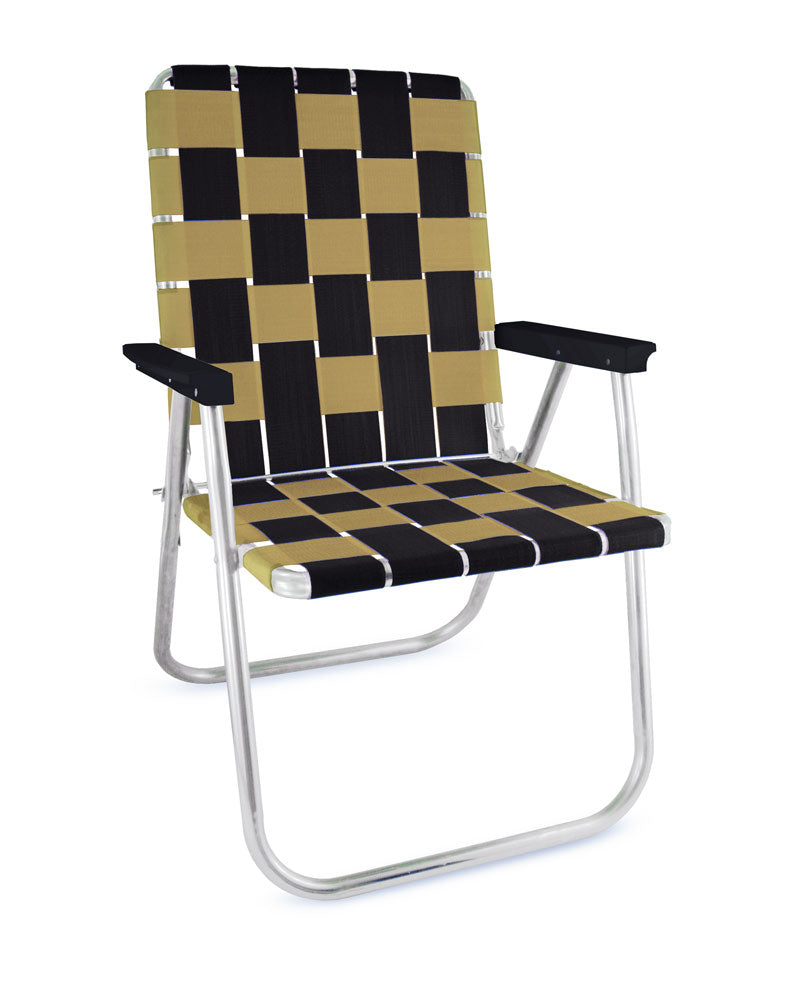 Black & Gold Classic Chair