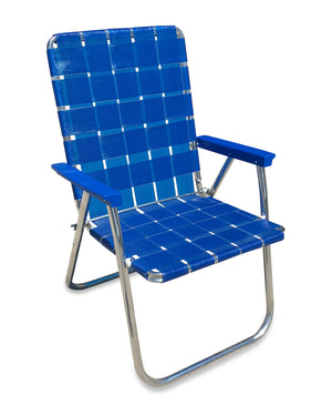 Blue Wave Classic Chair with Blue Arms