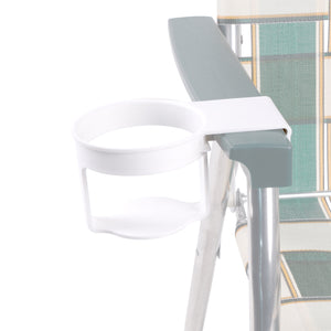 Lawn Chair USA White Cup Holder