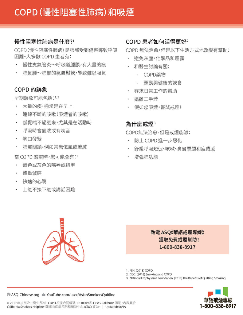 Quit Quide: COPD and Smoking