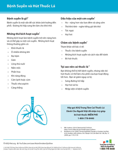 Quit Guide: Asthma and Smoking