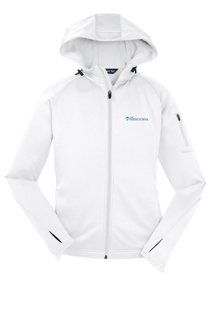 Ladies Staff and Spirit Performance Thumb Hole Zip Jacket