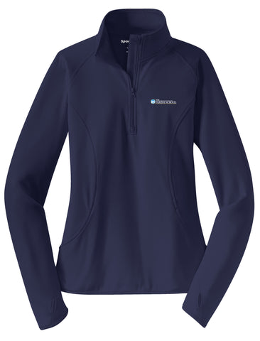 Ladies Staff and Spirit Performance 1/4 Zip Jacket