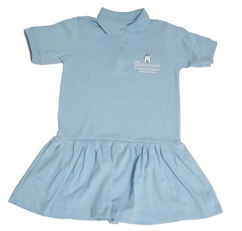 Girls Jersey Polo Dress