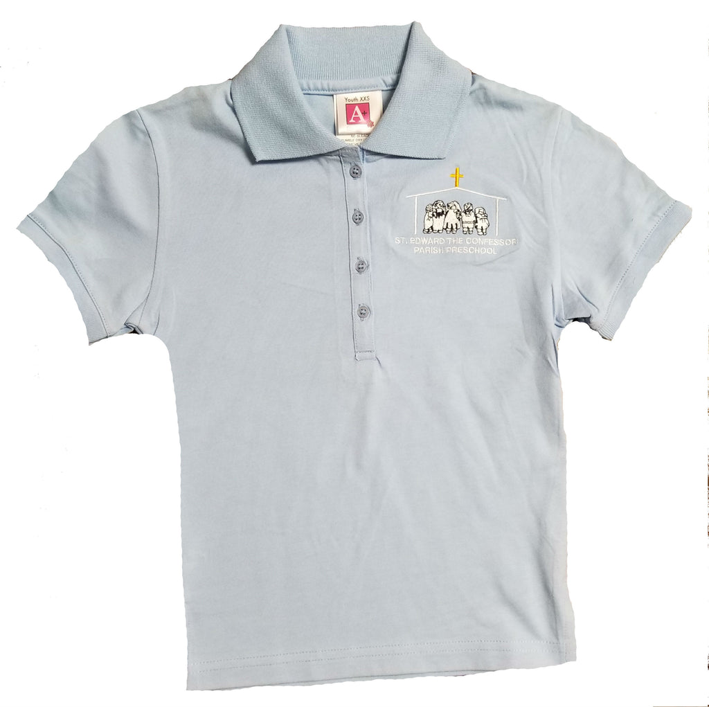 Preschool Girls Polo Shirts The Parish School Uniform Store