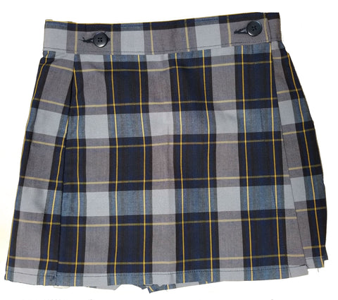 Mass Girls Plaid Skort