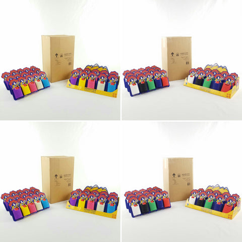 4 Cases of 25 SlapPacks + POS display boxes