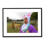 "Signed Robert Downey Jr. ""Honey Bunny"" Photo"