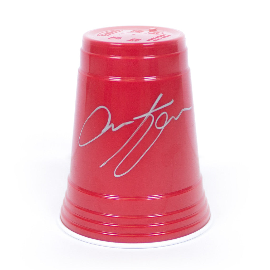 Signed Pitch Perfect Red Cup