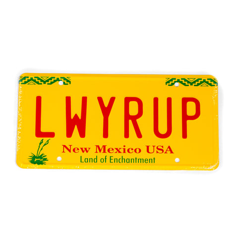 Better Call Saul New Mexico License Plate