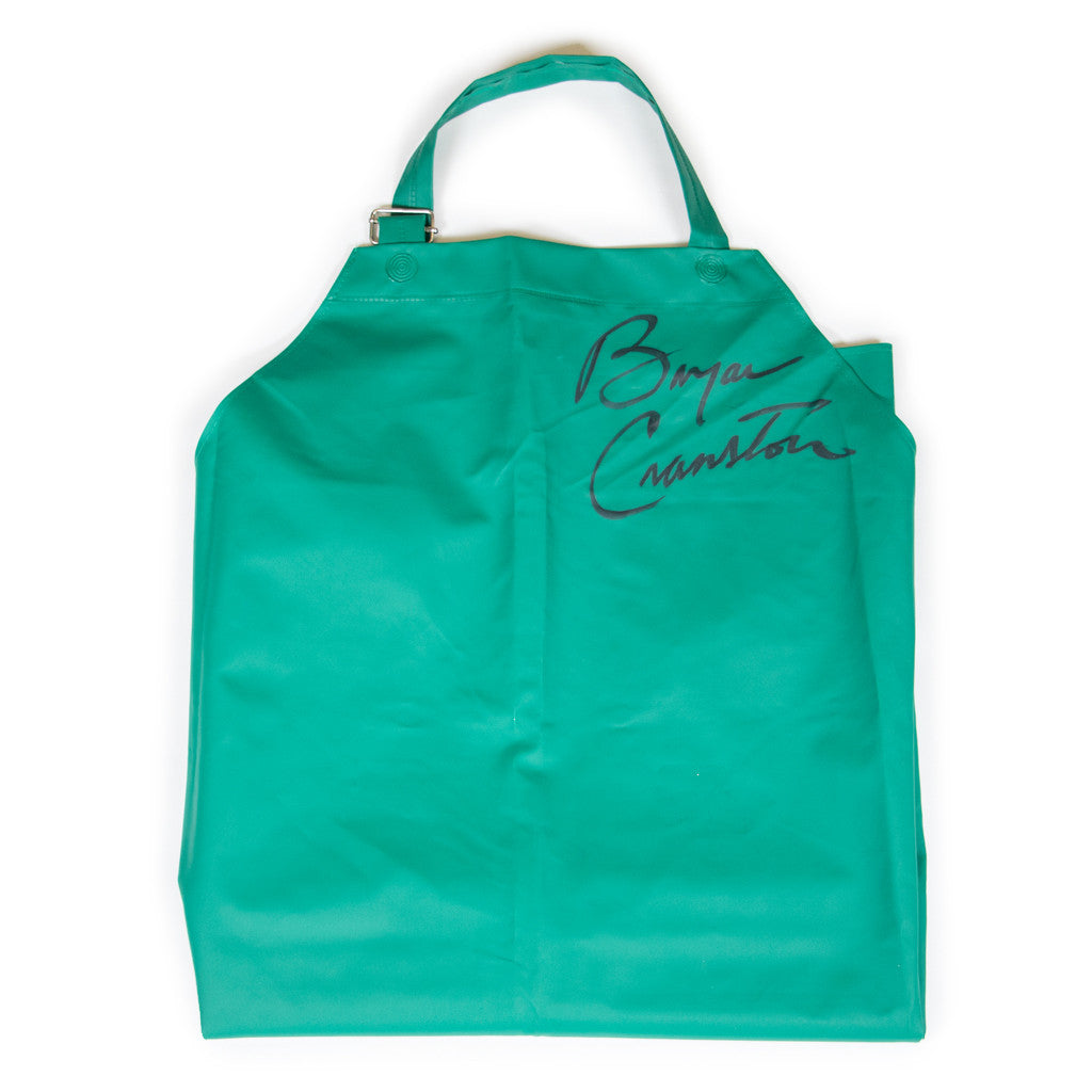Signed Bryan Cranston Breaking Bad Apron