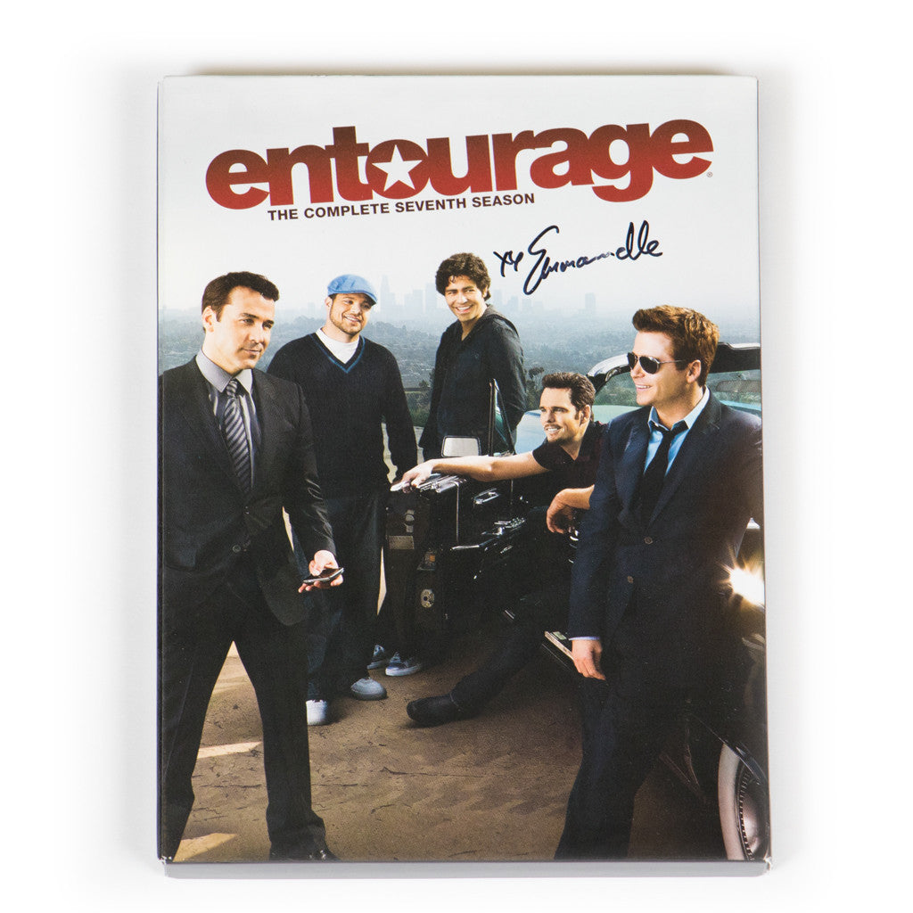 Signed Entourage Season 7 DVD