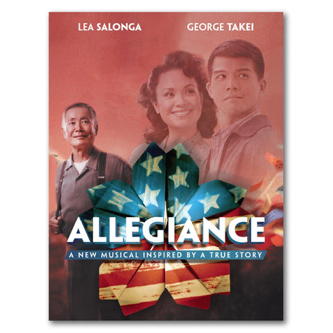 Allegiance Broadway Poster Signed by George Takei