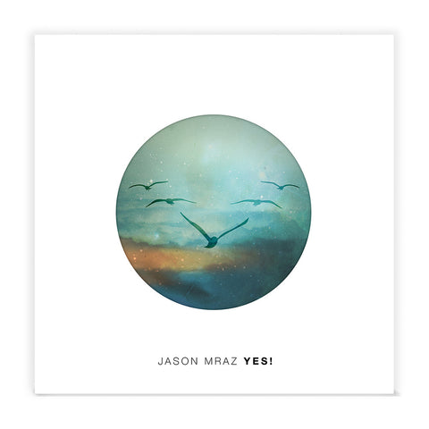"Signed Jason Mraz ""Yes!"" CD"