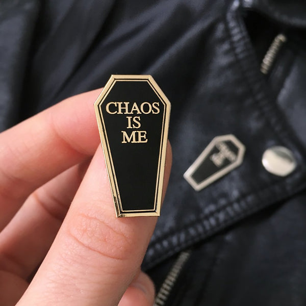 Chaos is Me Pin - Good Co.