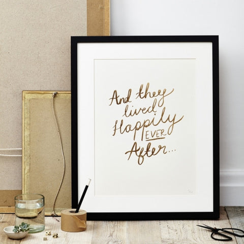 Happily Ever After Print - Good Co.
