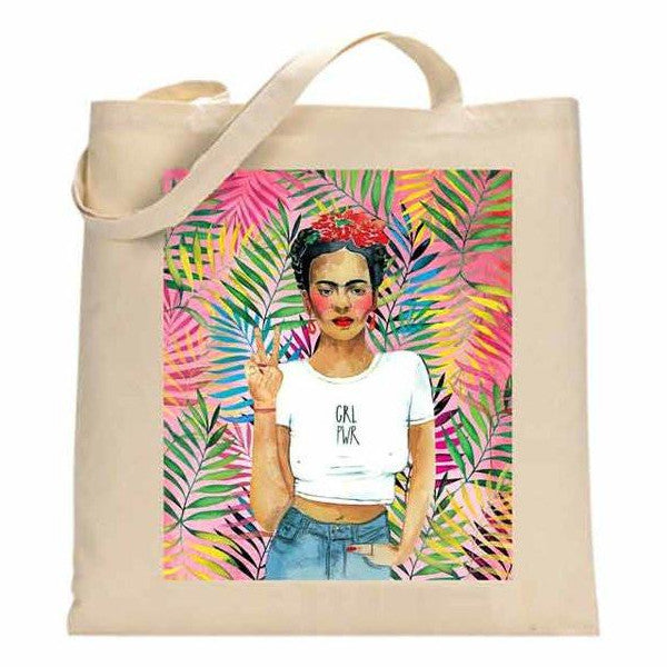 La Jo Lee - Frida Kahlo GRL PWR Tote - Homecoming Goods