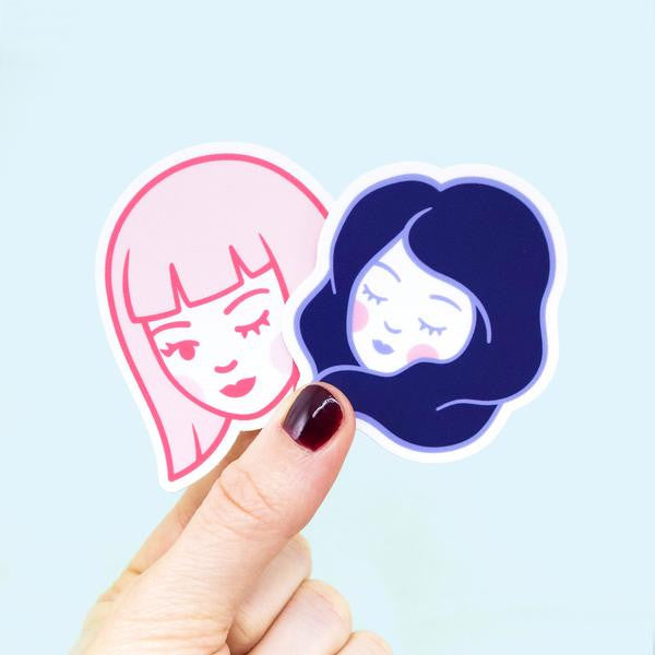 Dreamy Flirt Sticker Set - Good Co.