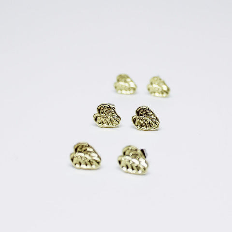 Monstera Earrings - Good Co.