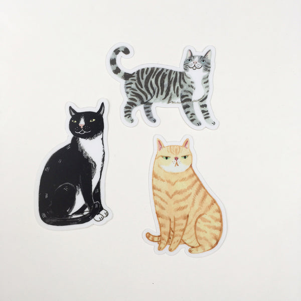 Cat Sticker Pack - Good Co.