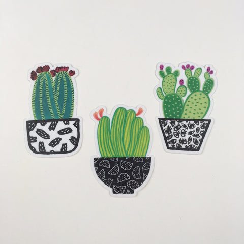 Cactus Sticker Pack - Good Co.