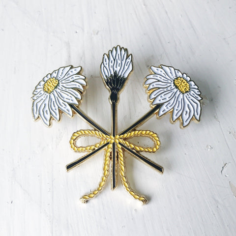 WILDFLOWER BOUQUET STATEMENT XL PIN - Good Co.