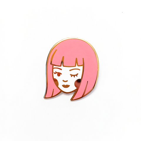 Lizzy Watkins - Little Flirt Pin - Homecoming Goods
