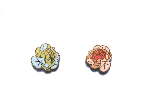 Lady No Brow - Peony Pins - Homecoming Goods