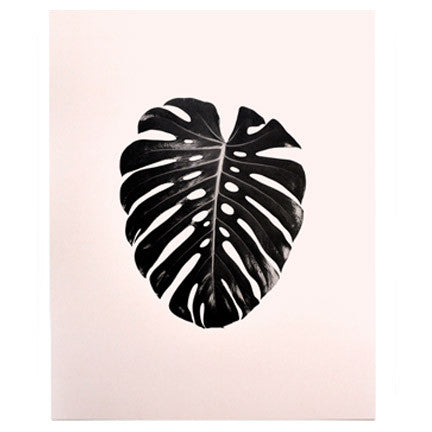 Tropical Monstera Print - Good Co.