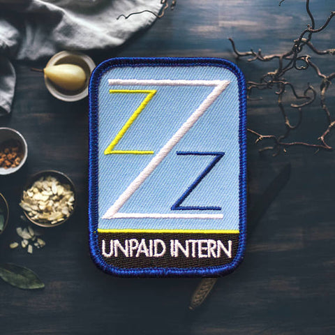 Life Aquatic Unpaid Intern Patch - Good Co.