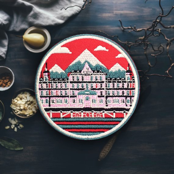The Grand Budapest Hotel Patch - Good Co.