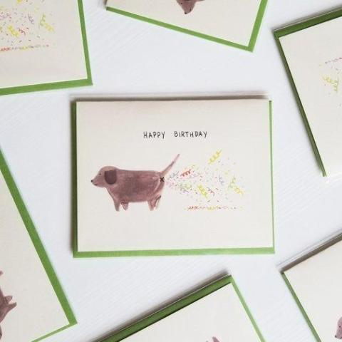 Confetti Fart Birthday Card - Good Co.