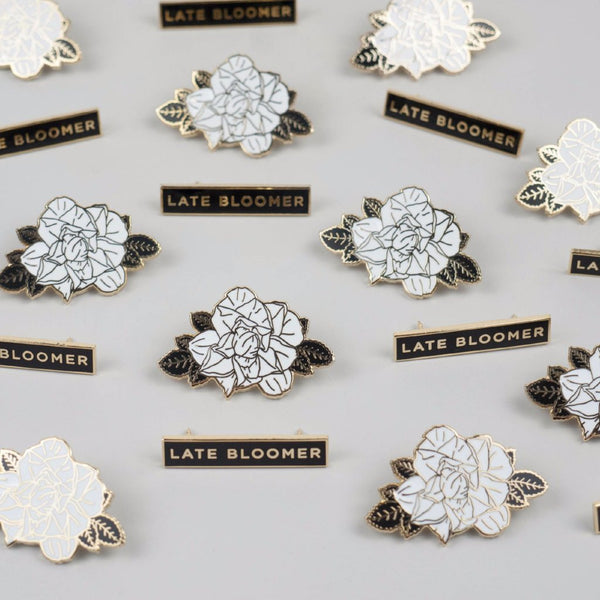 Late Bloomer Pin Set - Good Co.