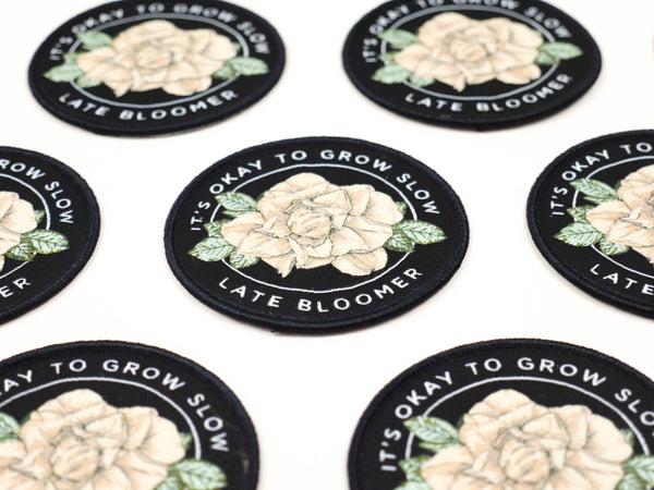 Late Bloomer Patch - Good Co.