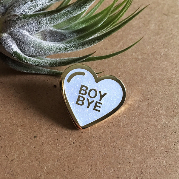 Sad Truth Supply - Boy Bye Pin - Homecoming Goods