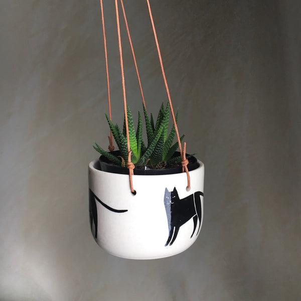 Cat Hanging Planter - Good Co.