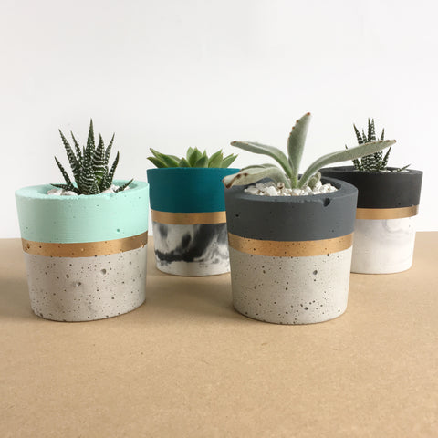 Cylindrical Concrete Planters - Good Co.