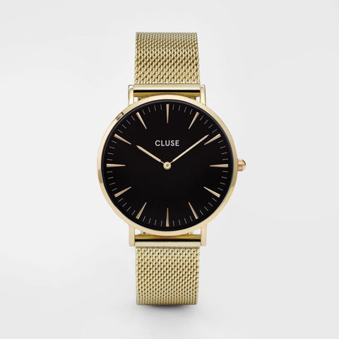 La Bohème Mesh Gold/Black - Good Co.