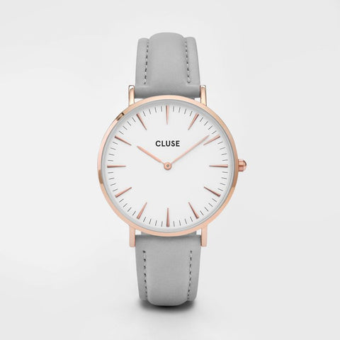 La Bohème Rose Gold White/Grey - Good Co.