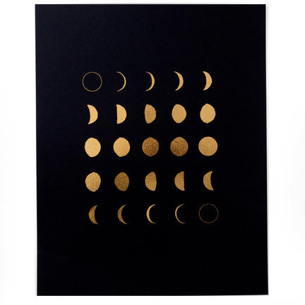 Lunar Moons Print - Good Co.