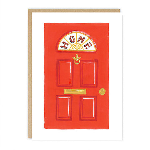 New Home Red Door Card - Good Co.