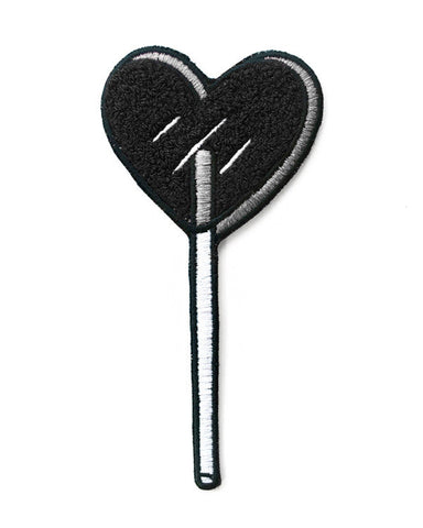 Heart Lolli Chenille Sticker Patch - Good Co.