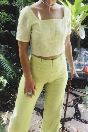 Casa Cuadra Clothing Paloma Wool VALDIMONTONE Pants - Light Green