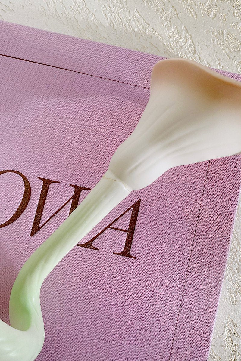 Ceramic Calla Lily Candle Holders