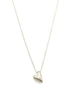 Tiny Heart Silver Necklace